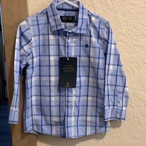 Boys button shirt